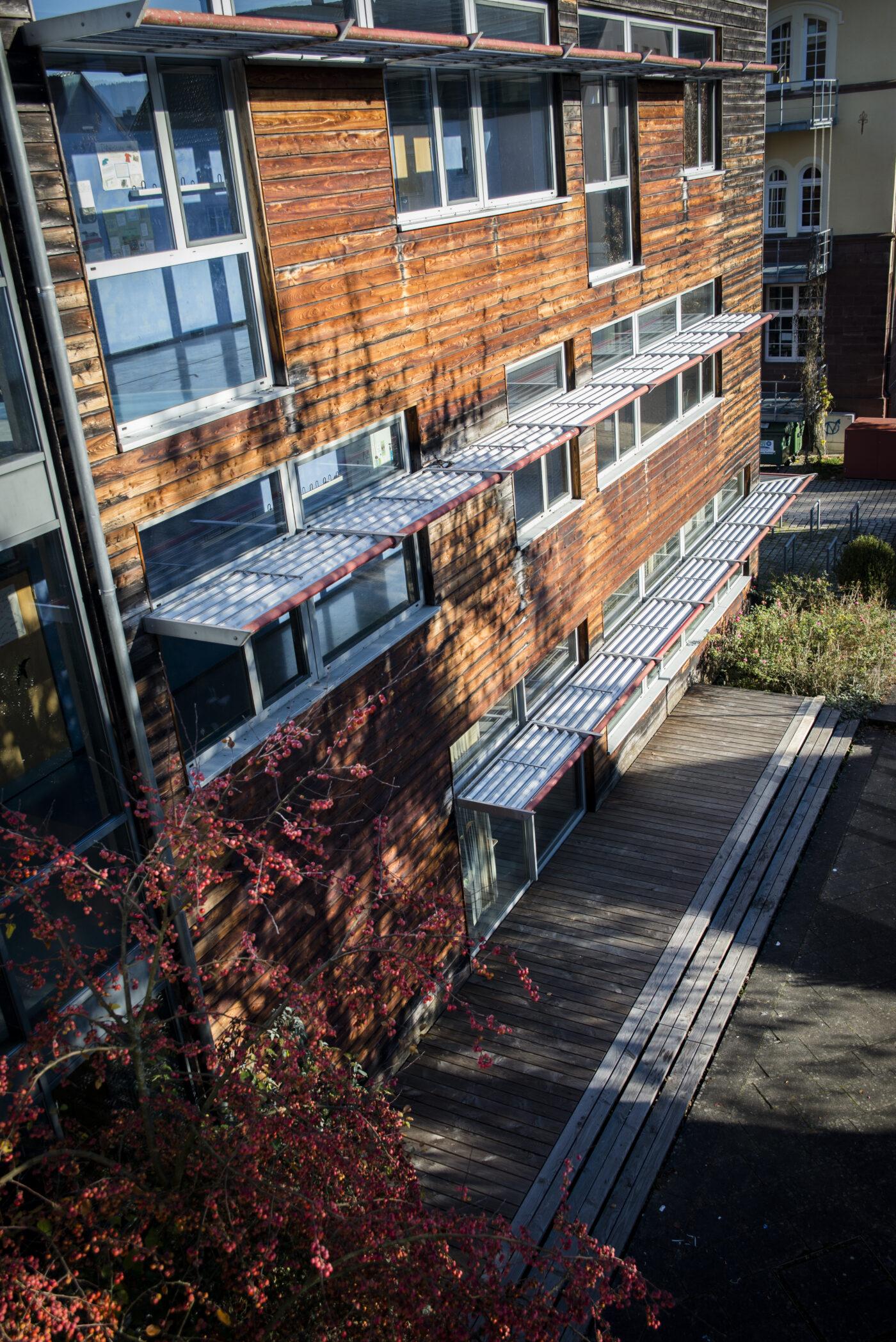 Außenansicht Schulgebäude
