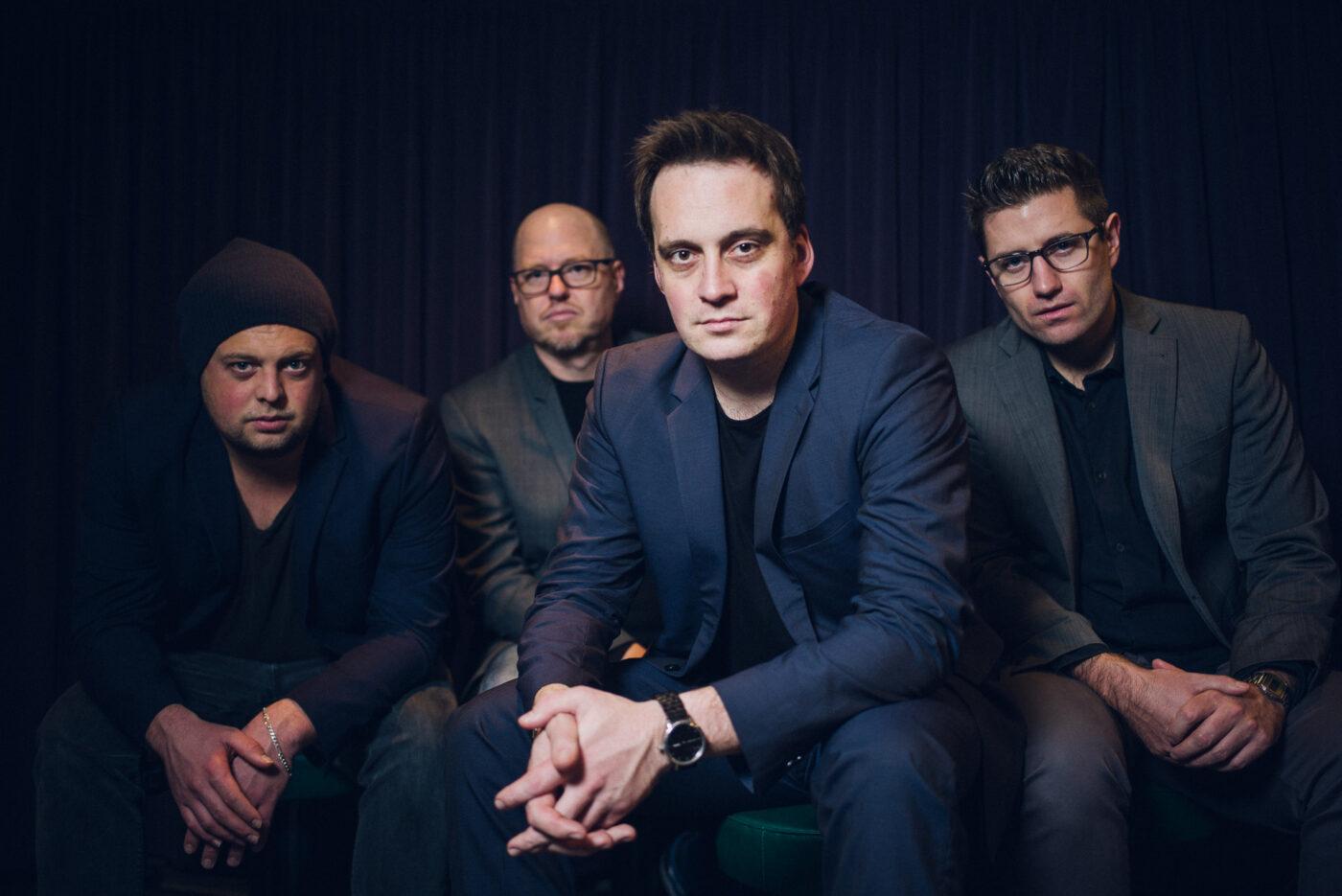 Portrait – vier Männer Markus Harm Quartett