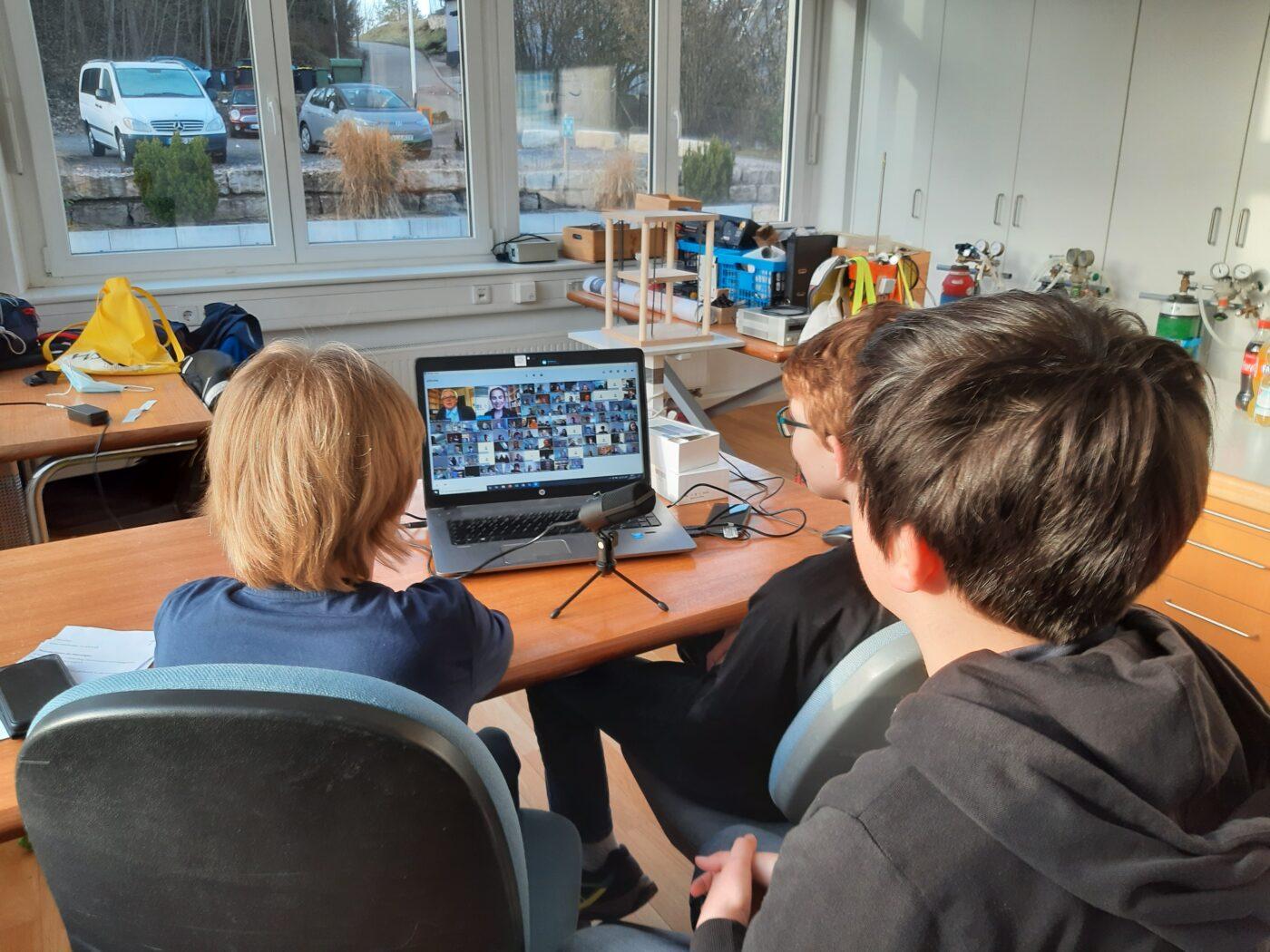 Jugend forscht Wettbewerb online
